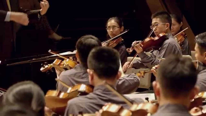 Toda la Música | Vadim Repin, la Asian Youth Orchestra y su director titular James Judd en el FIS