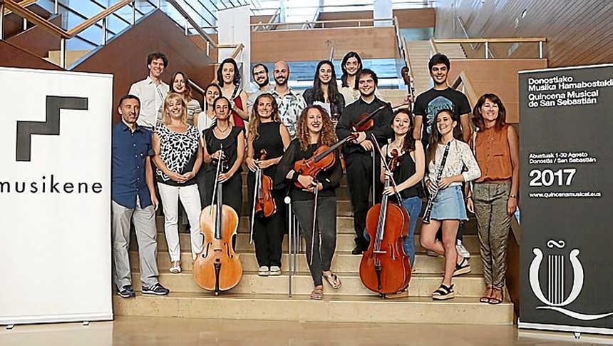 Toda la Música | Ciclo de Jóvenes Intérpretes, programado en colaboración con Musikene