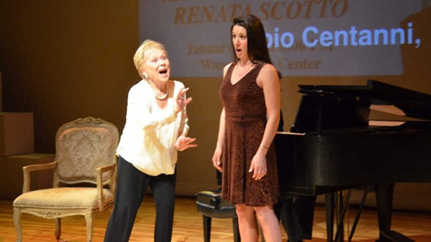 "Toda la Música | Renata Scotto, ""Curso de Interpretación Vocal"""