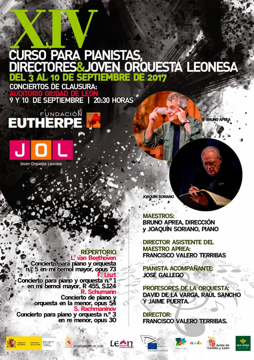Toda la Música | XIV curso para pianistas, directores y Joven Orquesta Leonesa