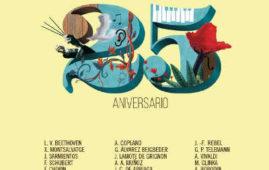 Temporada 1017 - 2018 de la Orquesta de Córdoba, celebrando su 25º Aniversario