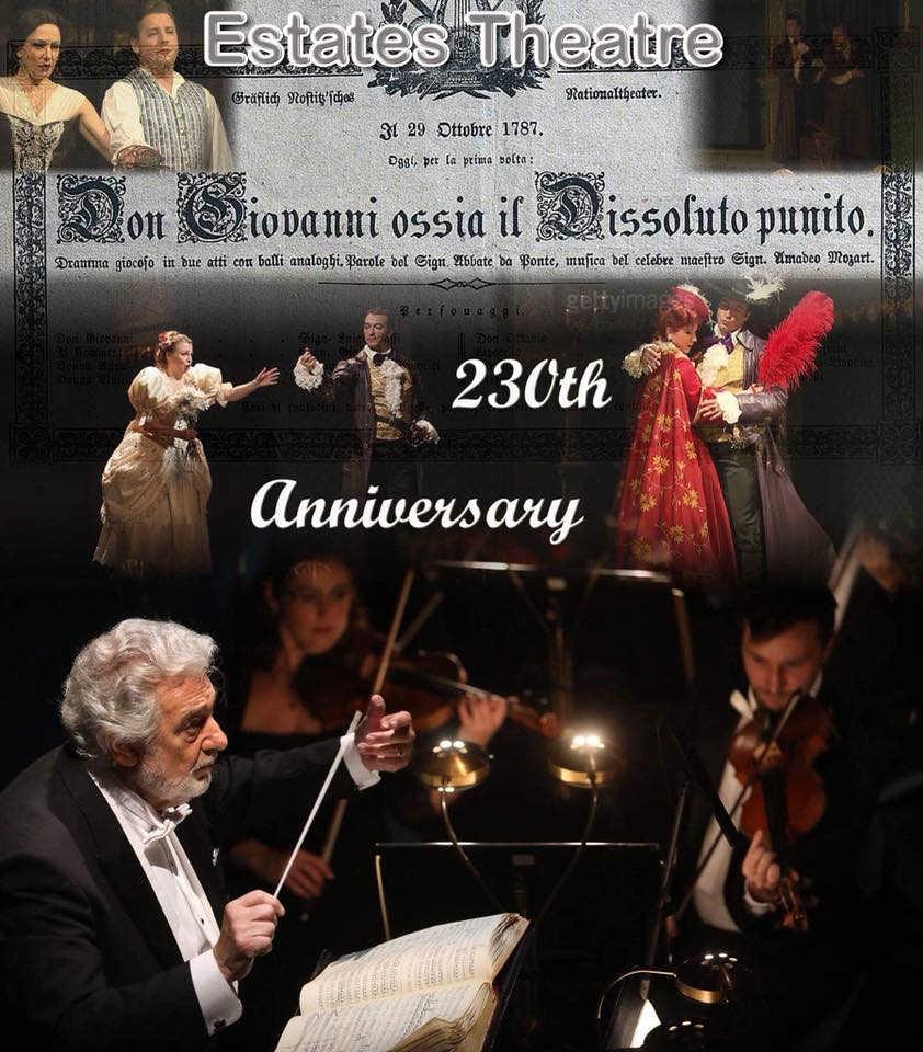 Toda la Música | Plácido Domingo dirige Don Giovanni en el teatro de Praga en el que se estrenó