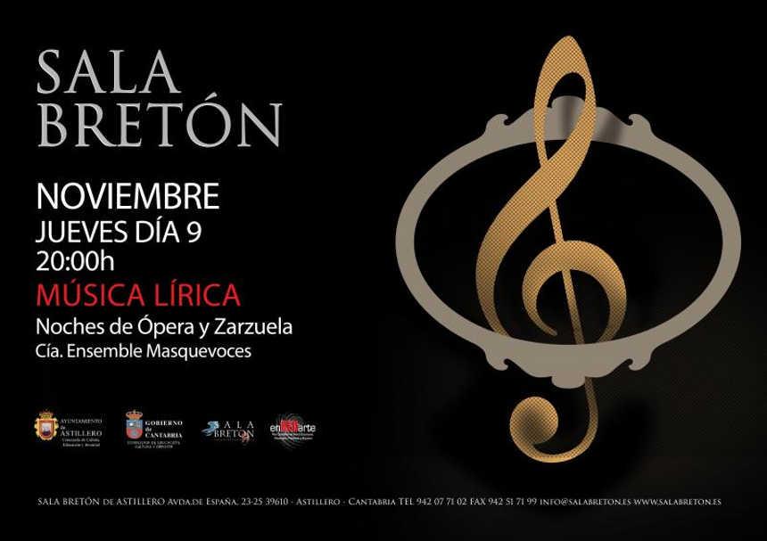 Toda la Música | Más que Voces finaliza en Astillero la gira de Noches de ópera y zarzuela