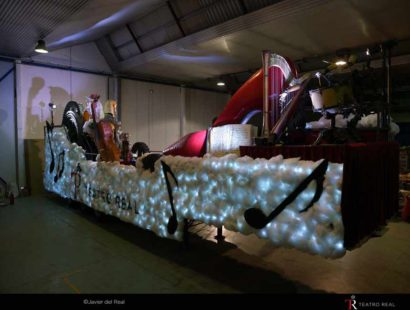 Toda la Música | El Teatro Real participa por primera vez en la Cabalgata de los Reyes Magos en Madrid con una carroza