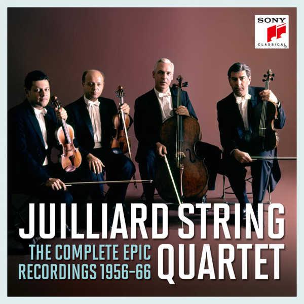 Toda la Música | Las grabaciones completas del Julliard String Quartet para Epic, se editan en CD