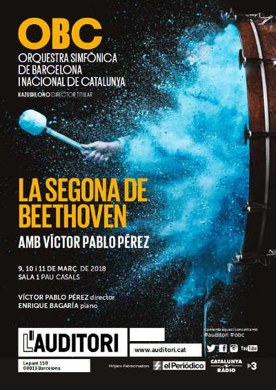 Toda la Música | La segunda de Beethoven con Enrique Bagaria al piano y la batuta de Víctor Pablo Perez
