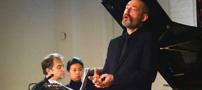 Toda la Música | Mark Padmore & Julius Drake con el Coro de Cámara del Palau de la Música