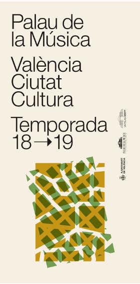 Toda la Música | Presentan la temporada 2018 19 del Palau de la Música de València