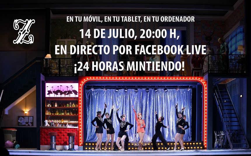 Toda la Música | Teatro de la Zarzuela emite por primera vez en directo y a través de Facebook Live