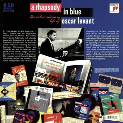 Toda la Música | Rhapsody in blue   The extraordinary life of Oscar Levant