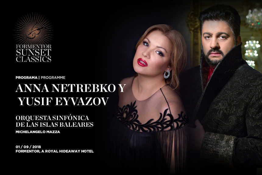 Toda la Música | Anna Netrebko y Yusif Eyvazov junto a la Orquesta Sinfónica de las Islas Baleares