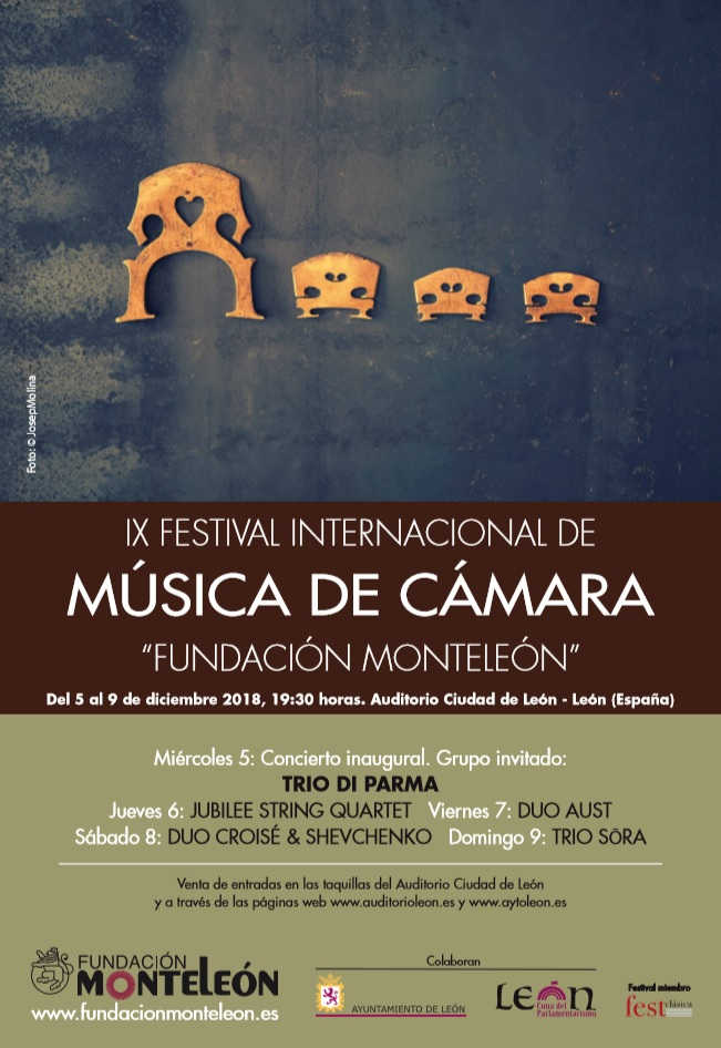 "Toda la Música | IX Festival Internacional de Música de Cámara ""Fundación Monteleón"""