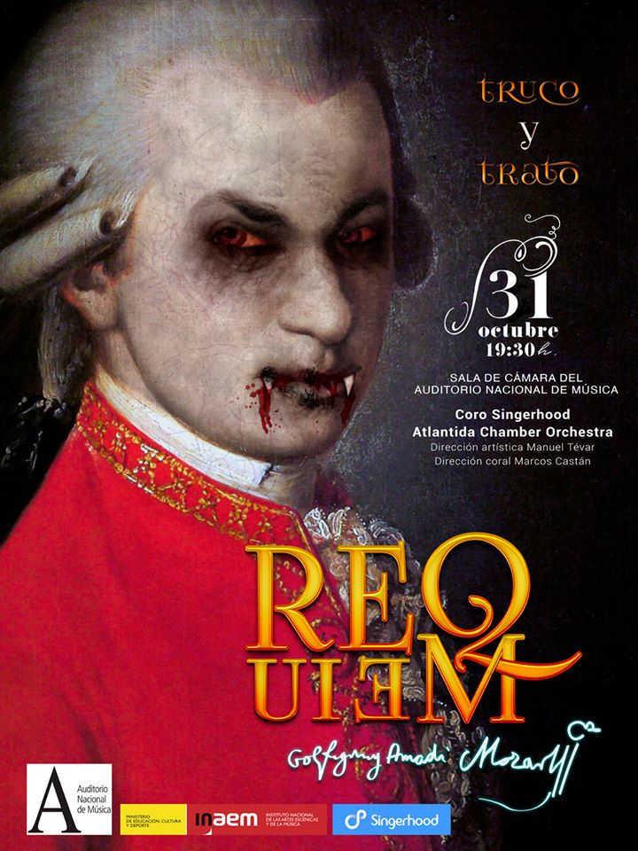 Toda la Música | Un Requiem de Mozart en Halloween para unir música, disfraces y teatro