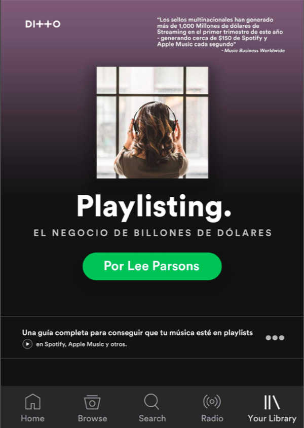 "Toda la Música | ""Playlisting"" la última guía con todo lo que debes saber para afrontar el mundo de las playlists"