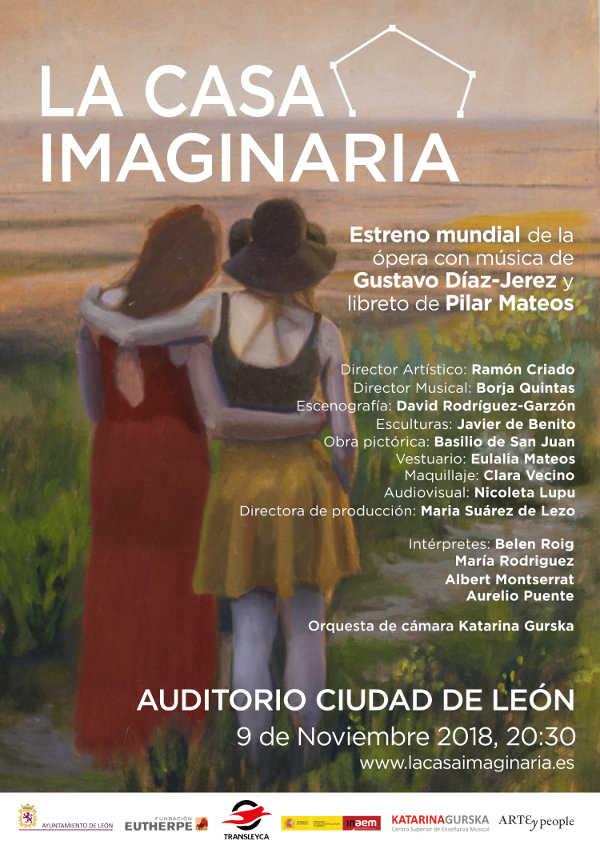 Toda la Música | Ópera Casa imaginaria, en estreno mundial en León