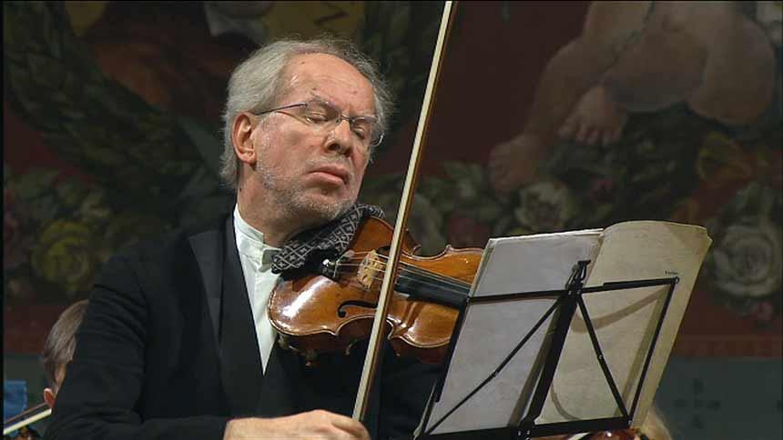 Toda la Música | Gidon Kremer y la Orquesta de València interpretan el doble concierto de Philip Grass