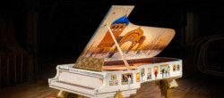 "Steinway Piano. A tribute to ""Pictures at an Exhibition"""