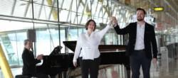 Soprano Yolanda Auyanet, tenor David Butt Philip y, al piano, Patricia Barton