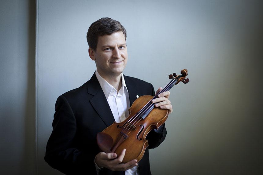 Toda la Música | James Ehnes, en el siguiente programa de conciertos de la Orquesta Sinfónica de Euskadi