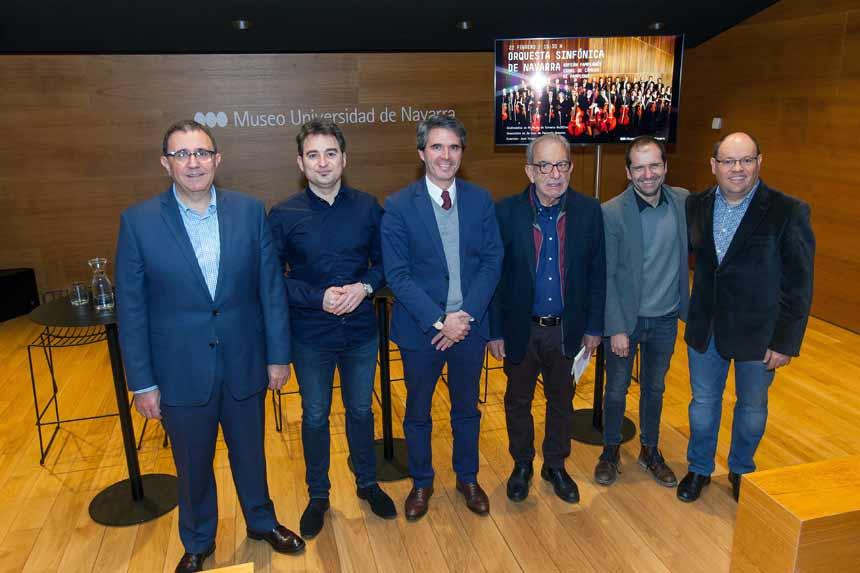 Toda la Música | Tres instituciones musicales navarras de gran prestigio ofrecen concierto en el Museo Universidad de Navarra