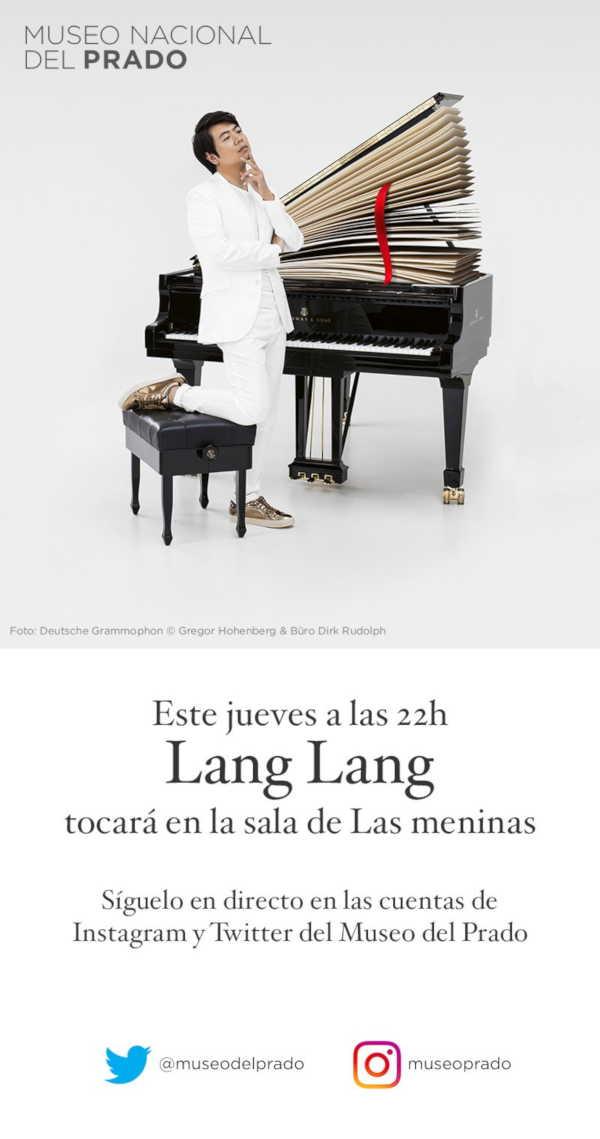 Toda la Música | El pianista Lang Lang celebra el Bicentenario del Museo del Prado con un homenaje a Velázquez