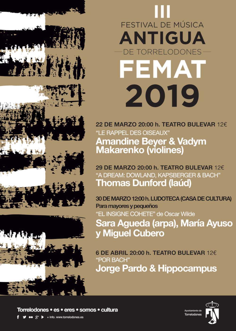 Toda la Música | III Festival de música antigua de Torrelodones FEMAT 2019