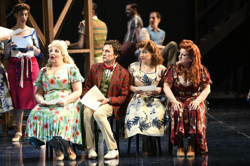 Toda la Música | Fotografías de la opereta Luna de miel en el Cairo del Teatro Arriaga de Bilbao