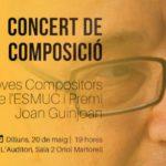 Toda la Música | El compositor catalán Guillem Góngora gana la decimoséptima edición del Premio Internacional Joan Guinjoan