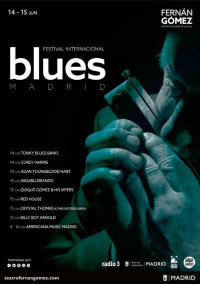 Toda la Música | Arranca el Festival Internacional de Blues Madrid en la Plaza de Colón