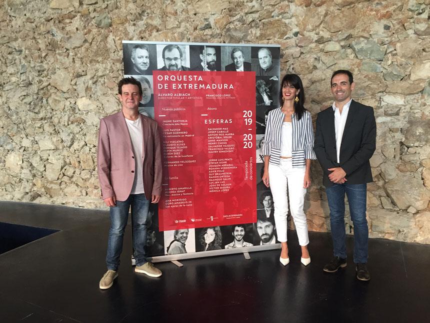Toda la Música | La Orquesta de Extremadura presenta su nueva temporada 2019/2020