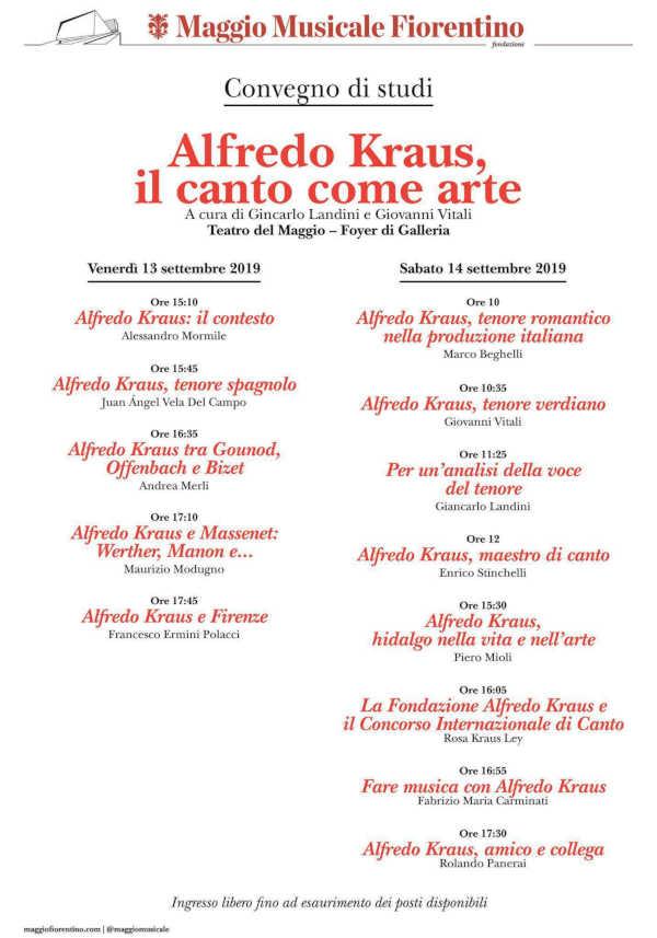 Toda la Música | La FIAK prosigue sus homenajes a Alfredo Kraus en el 20 aniversario de su muerte