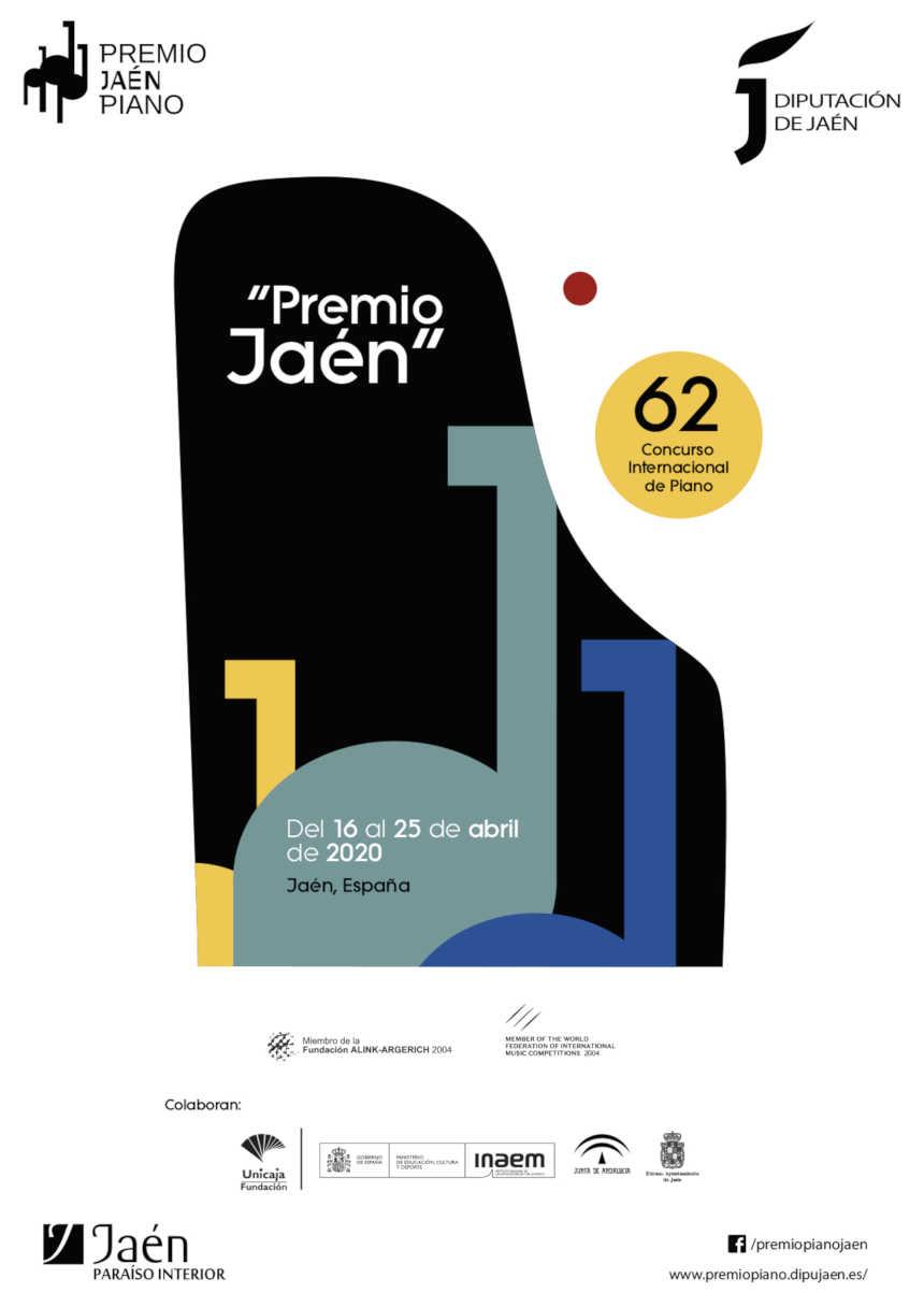 Toda la Música | Vuelve el Premio Jaén de Piano en 2020 en su 62º edición