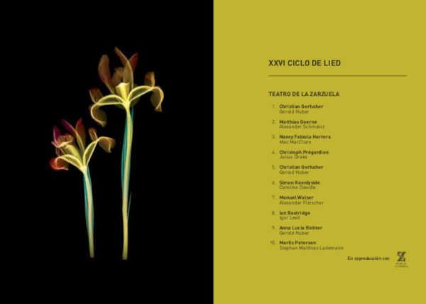 Toda la Música | XXVI Ciclo de Lied de la Temporada 2019/20 en el Teatro de la Zarzuela