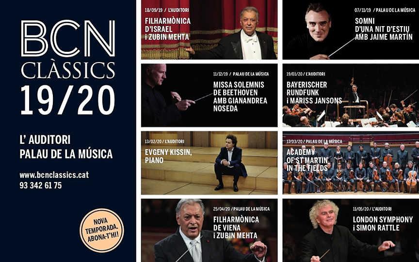 Toda la Música | A punto de comenzar la nueva temporada BCN CLÀSSICS en Barcelona