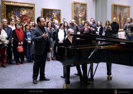Toda la Música | Fotografías y vídeos del homenaje del Teatro Real al bicentenario del Museo del Prado en la voz de Javier Camarena