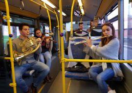 Toda la Música | Beethoven suena en directo en un autobús urbano de Cartagena