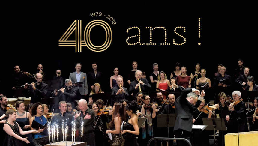 Toda la Música | Gala 40º aniversario de Les Arts Florissants con William Christie y Paul Agnew