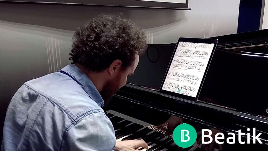 Toda la Música | Pedro Vera: El objetivo de Beatik es que los músicos profesionales dejen las partituras en papel