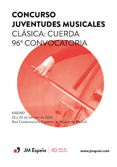Toda la Música | El Concurso Juventudes Musicales de España incluirá todos los instrumentos de clásica, jazz y música antigua