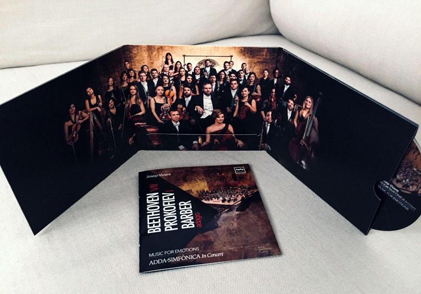 Toda la Música | ADDA Simfònica recibe el Melómano de Oro por su álbum Music for Emotions