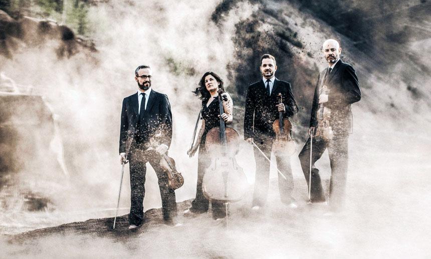 Toda la Música | La Real Filharmonía de Galicia y el Cuarteto Quiroga, Premio Nacional de Música 2018, ofrecen tres conciertos