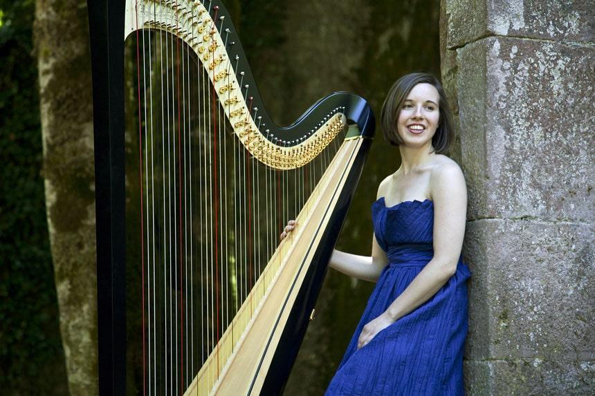 Toda la Música | Concierto de arpa de la navarra Alicia Griffiths en el Museo Universidad de Navarra