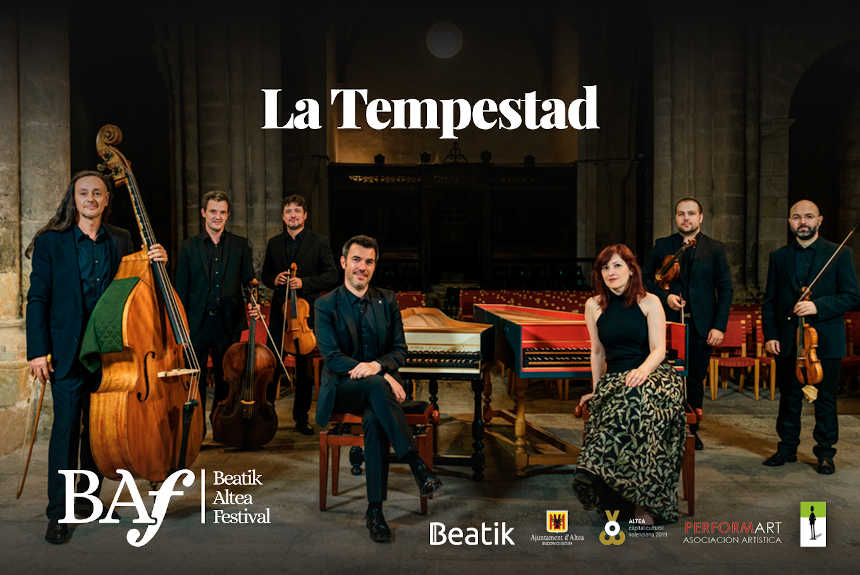 Toda la Música | La Tempestad en concierto en el Beatik Altea Festival   BAF