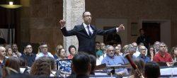 Toda la Música   El director valenciano Saül Gómez Soler se pone al frente de la Banda Sinfónica de Musikene