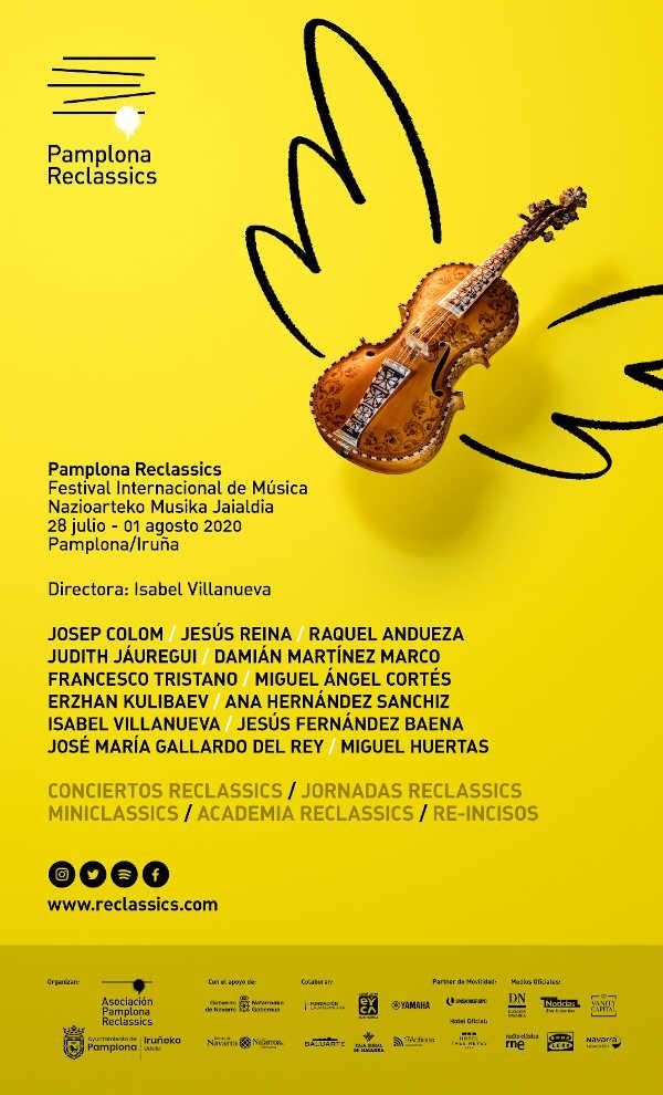 Toda la Música   Avance de programación y detalles del I Festival Internacional de Música Pamplona Reclassics