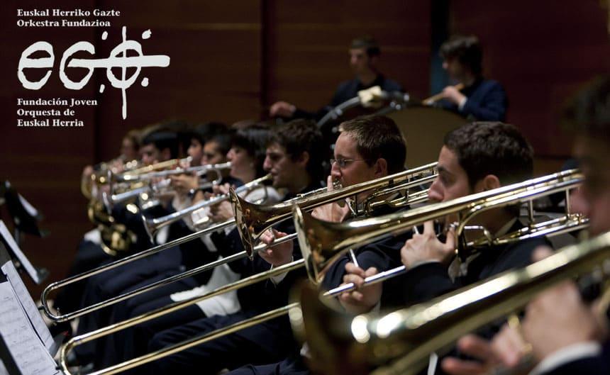 Toda la Música | La Joven Orquesta de Euskal Herria estrena director en su gira estival en el Palacio Euskalduna
