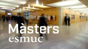 La ESMUC amplía el plazo de inscripción de los másters hasta el 27 de julio