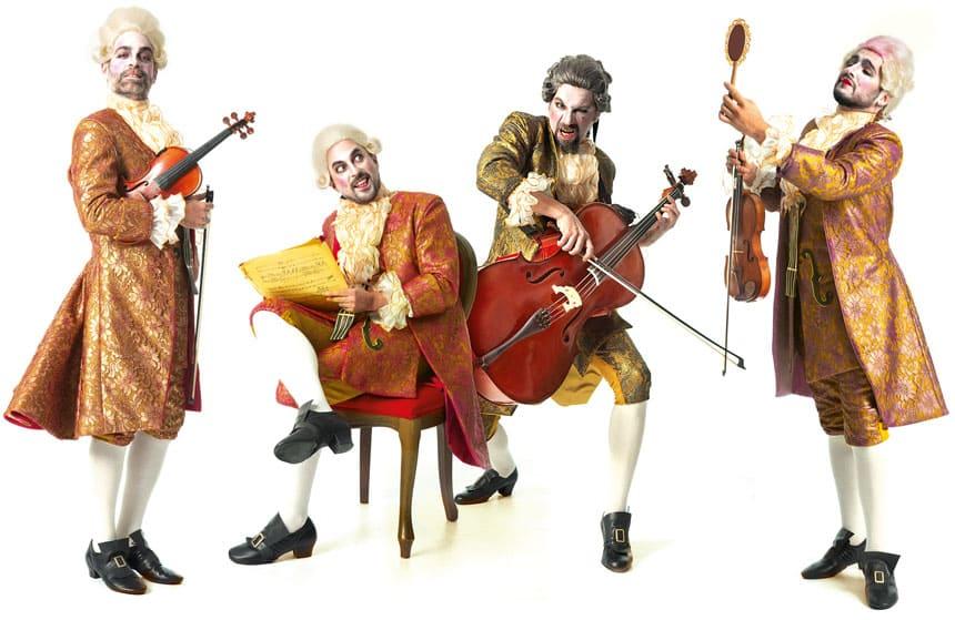 Toda la Música | Yllana presenta Maestrissimo (Pagagnini 2). Ironía del elitismo en música clásica en Teatros del Canal