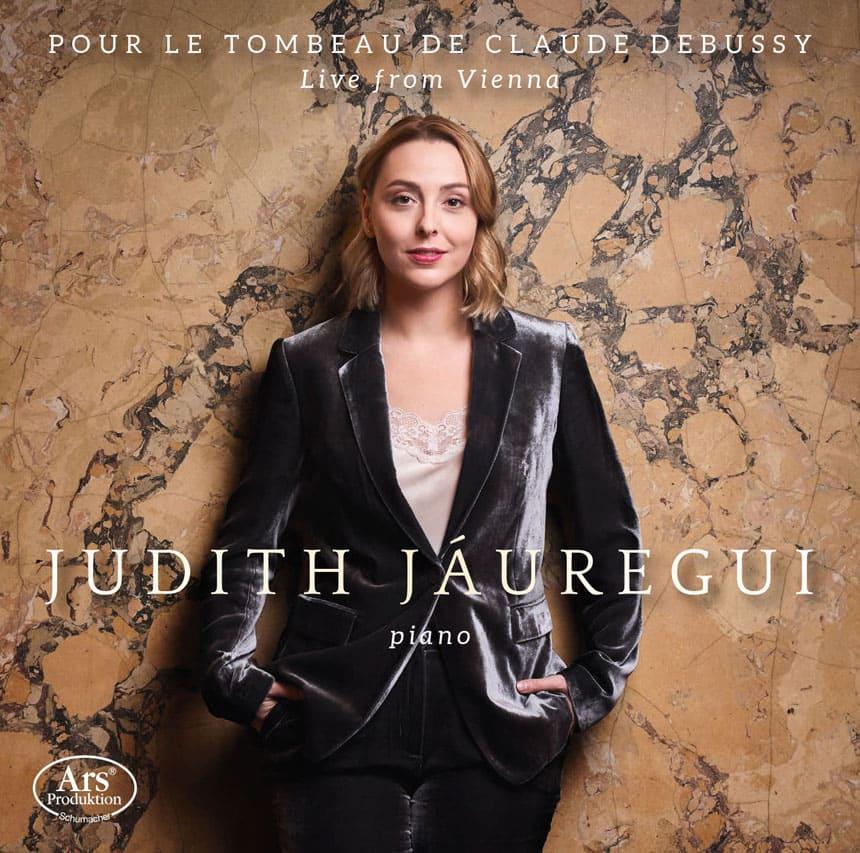Toda la Música | El disco Pour le Tombeau de Claude Debussy de Judith Jáuregui, nominado a los Premios Opus Klassik
