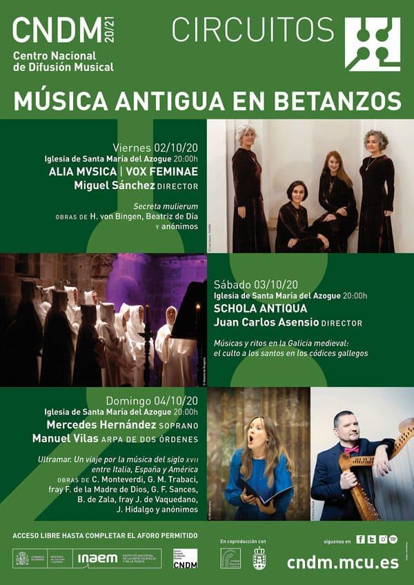 Toda la Música | El CNDM, el Ayuntamiento de Betanzos y la Unidad Pastoral presentan el ciclo 'Música Antigua en Betanzos